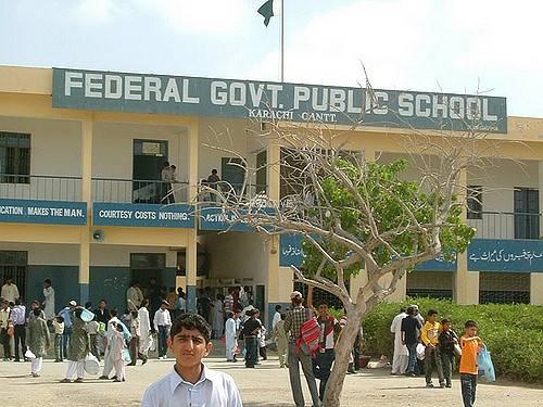 federal government public school karachi paktive